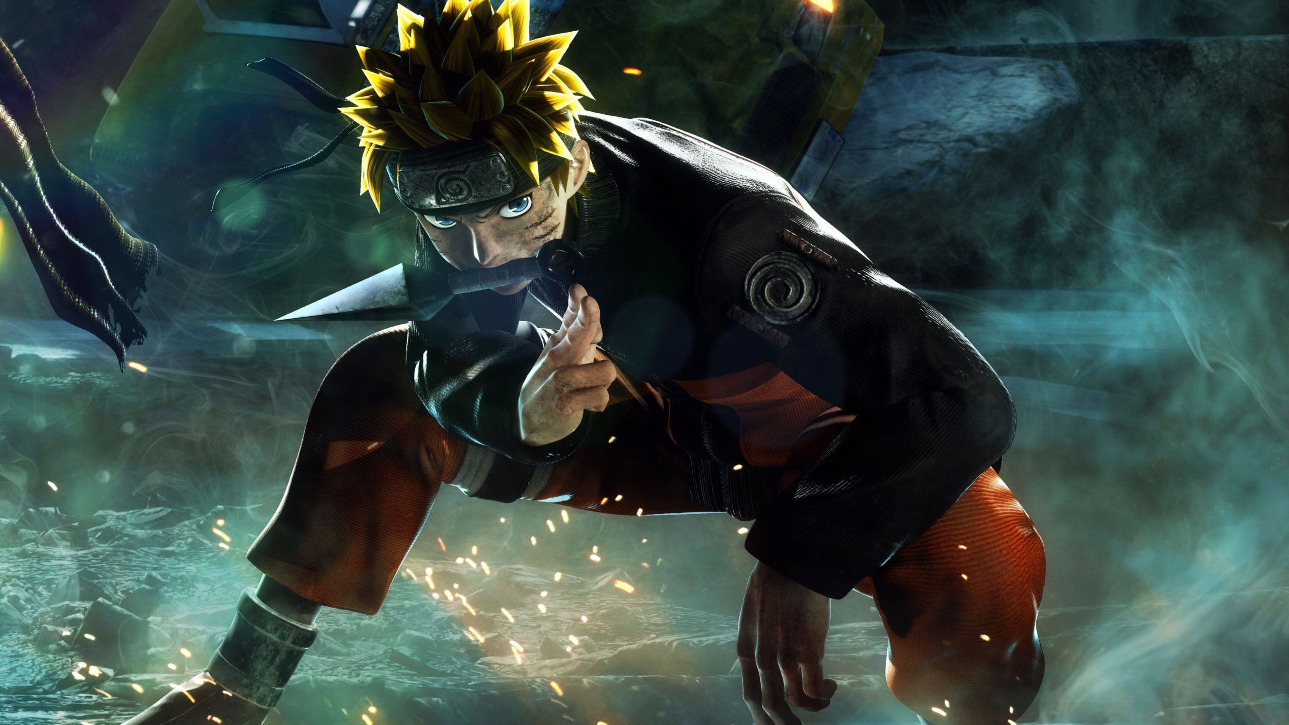 Naruto 4K fondo de pantalla