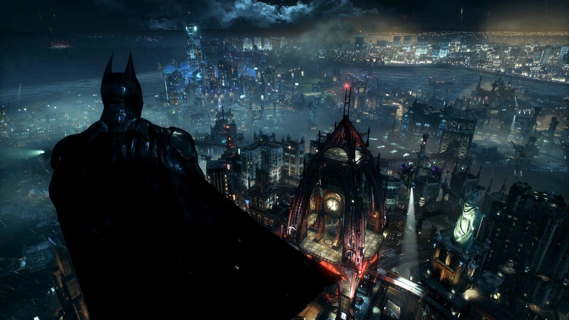 Fondo de pantalla de Batman y Gotica