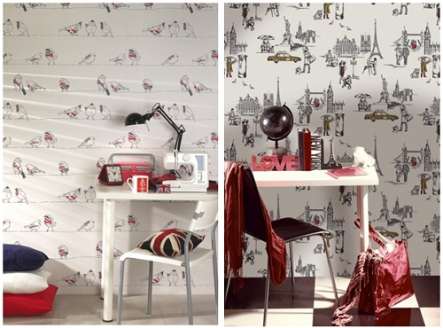 B & Q wallpapers designs