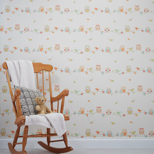 B&Q wallpapers in store