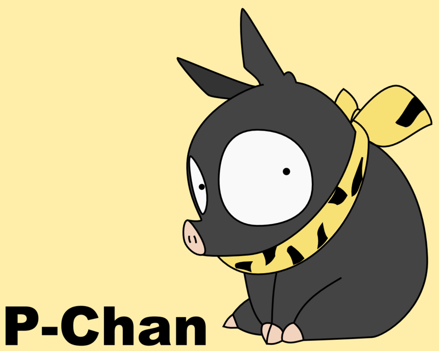 P-chan wallpapers hd