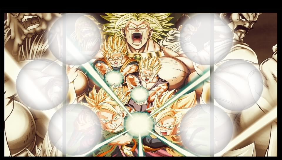 wallpapers transparentes ps vita dragon ball z
