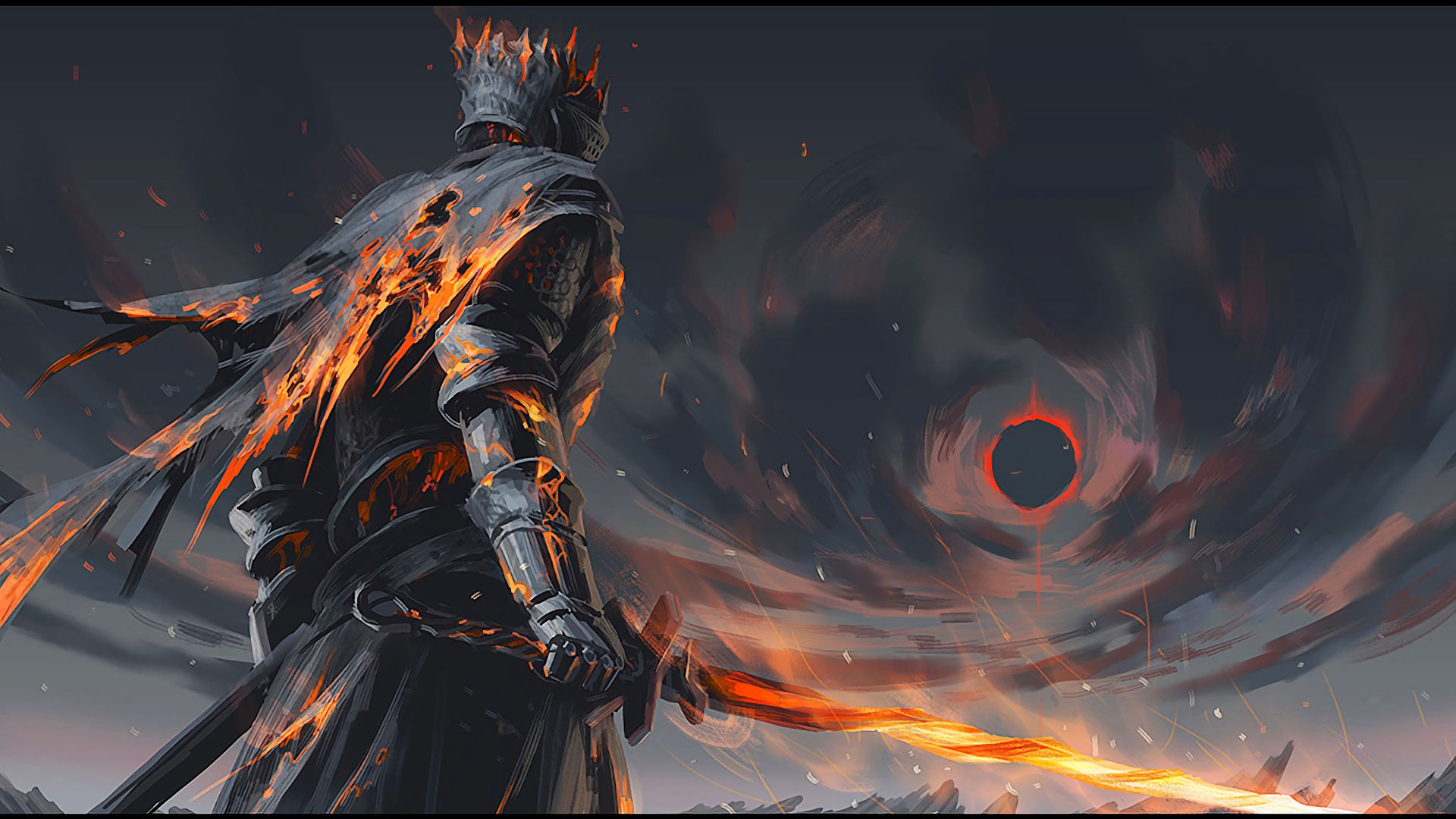 Fondo de pantalla Dark Souls