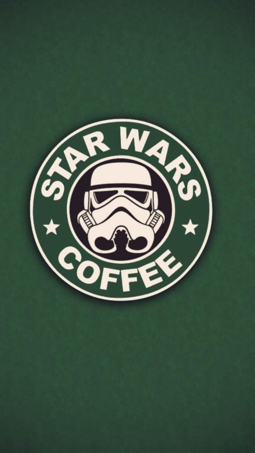 Fondo de Star Wars mas Coffee