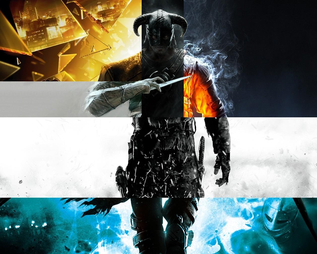 Fondo de pantalla  Skyrim