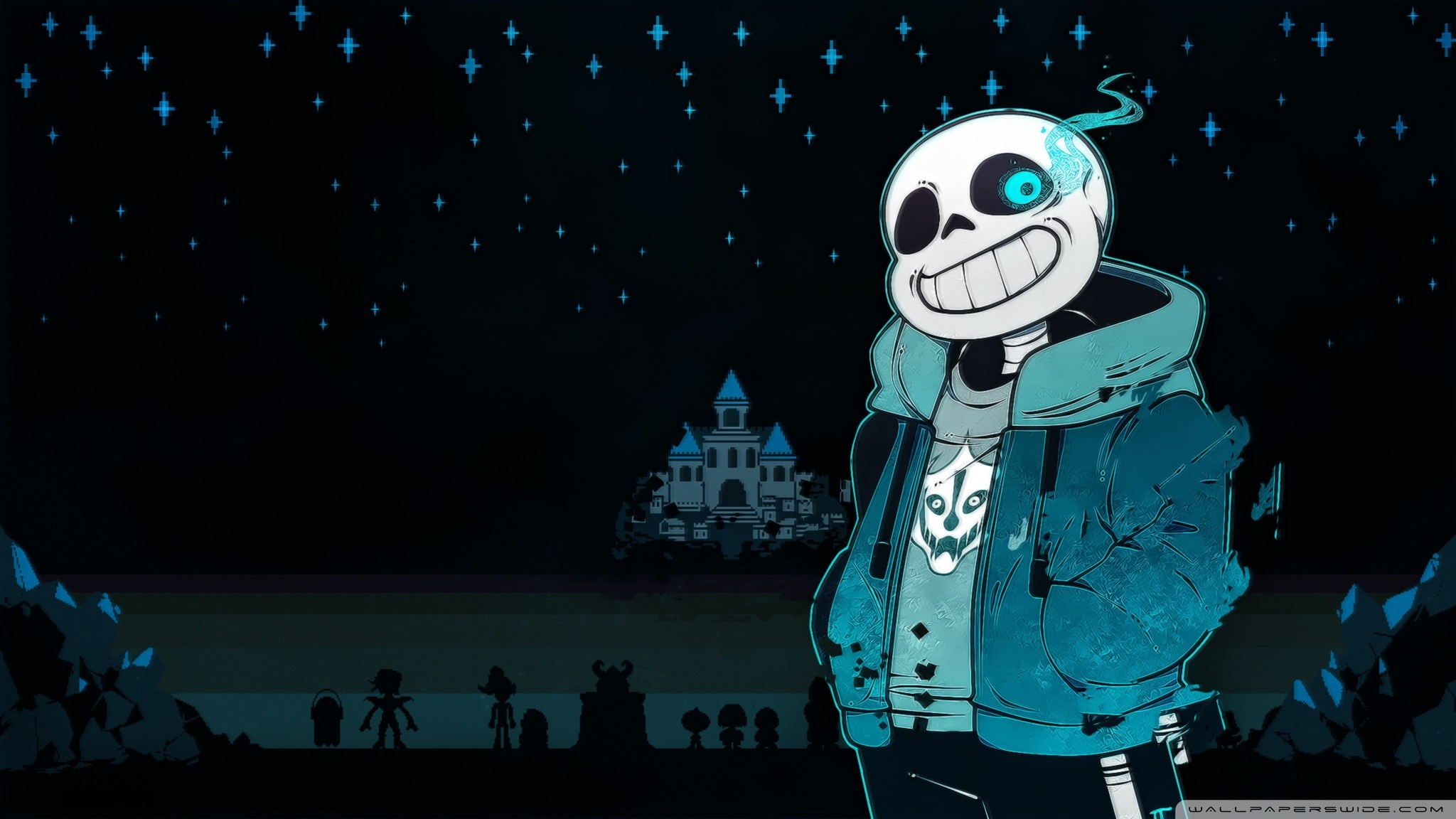 Wallpaper HD de Sans Undertale