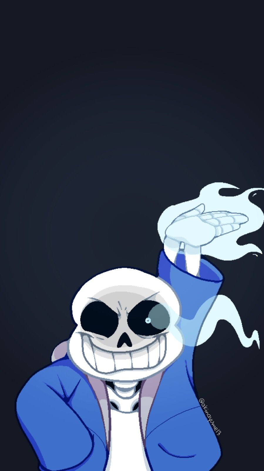 Sans de Undertale para Iphone