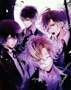 Anime Art de vampiros