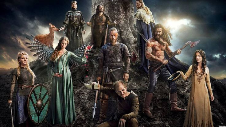 wallpapers vikings serie