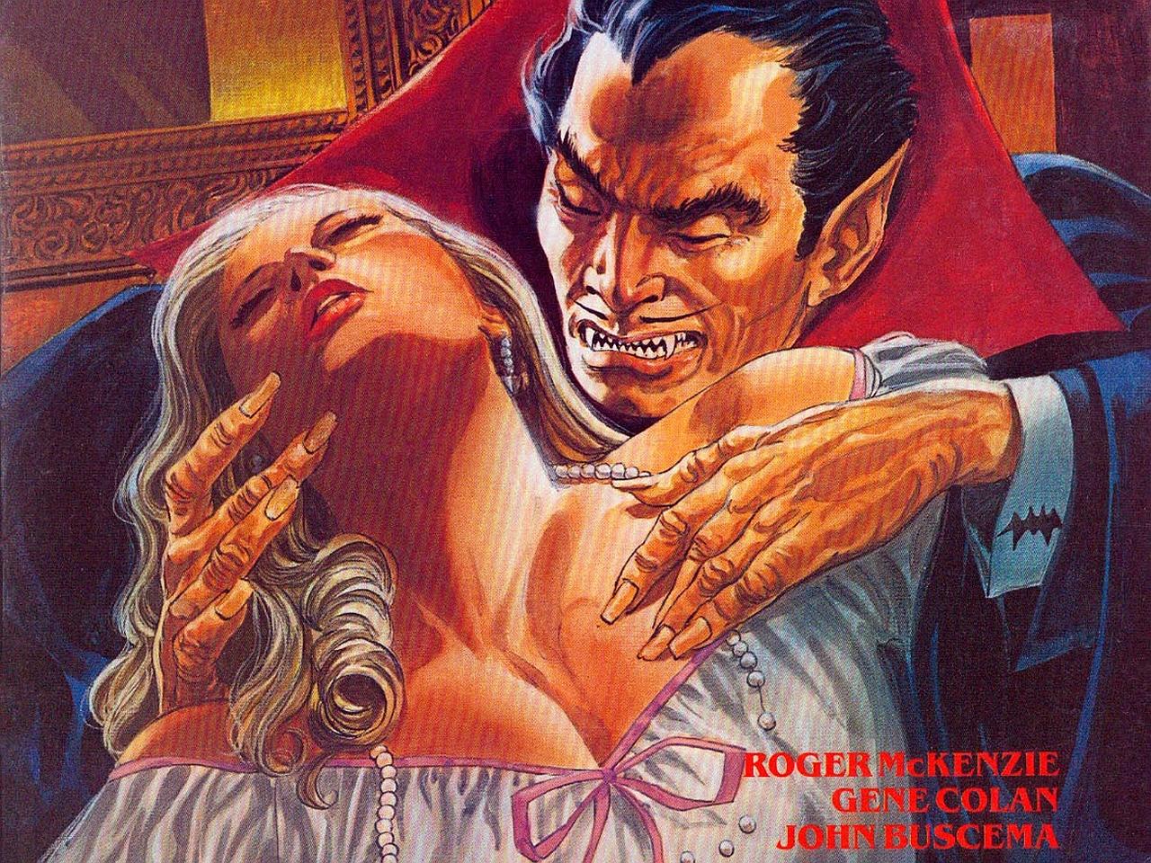 Fondo de la serie Dracula