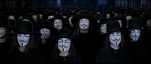 imagenes de v de venganza para portada de facebook