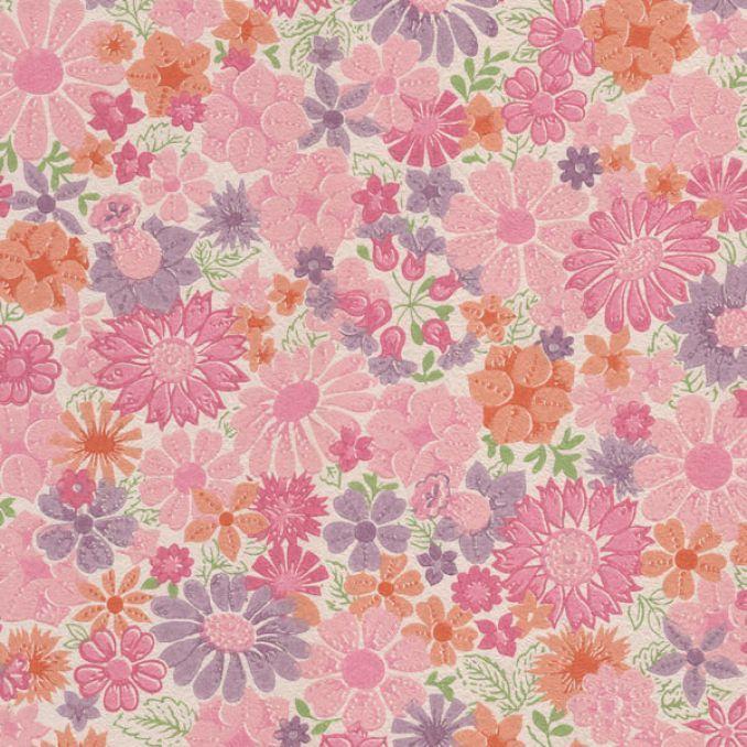 vintage pink wallpaper background