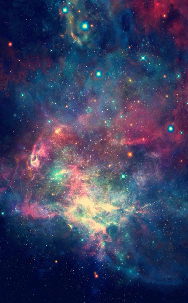 the universe iphone wallpaper