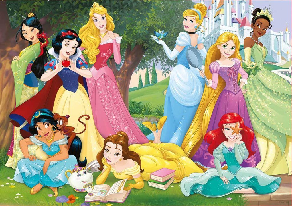 Dia de campo princesas de Disney