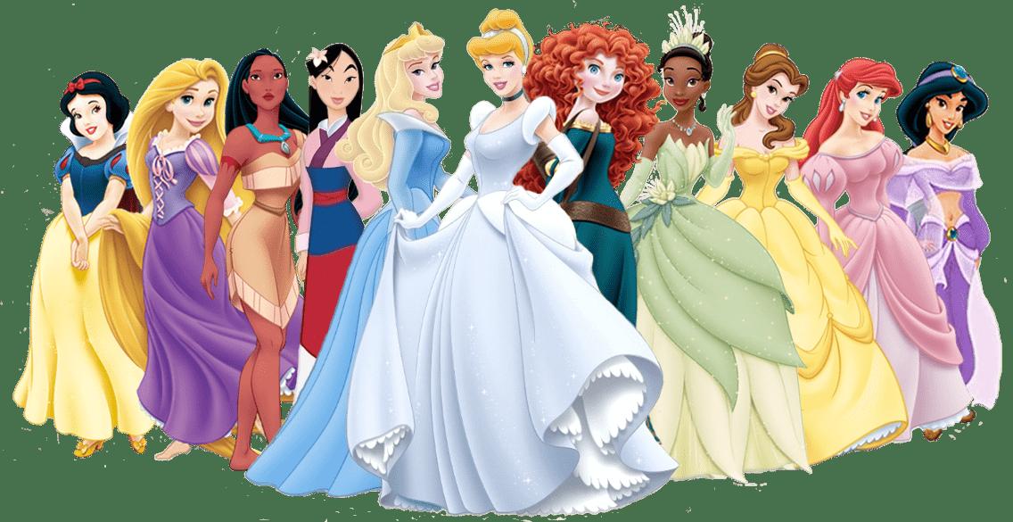 Princesas de disney en png