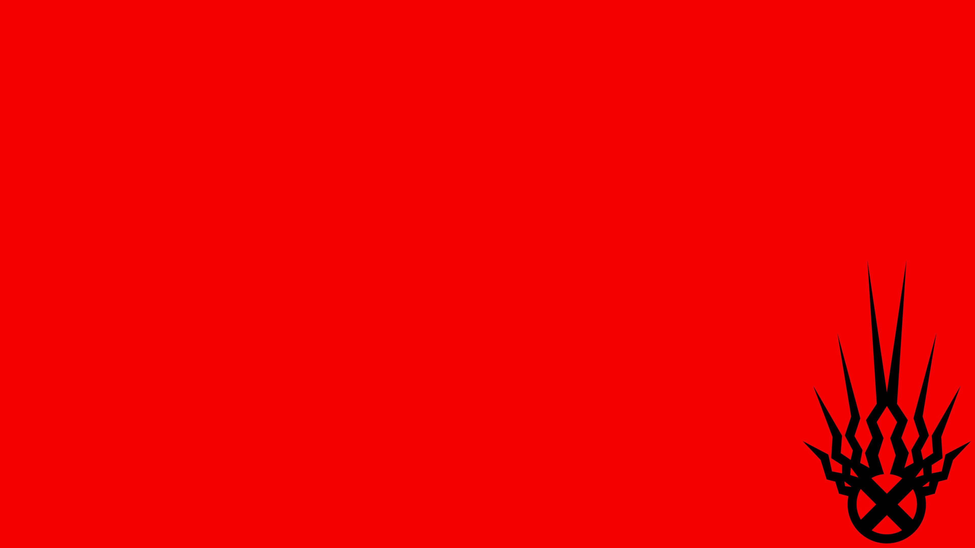 Fondo de pantalla rojo 4k HD