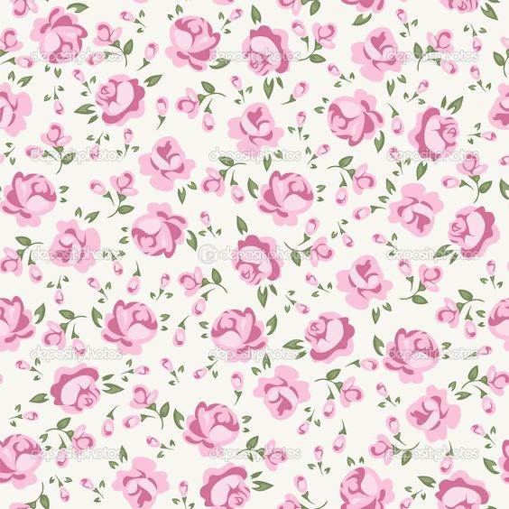 Wallpaper rosa y blanco