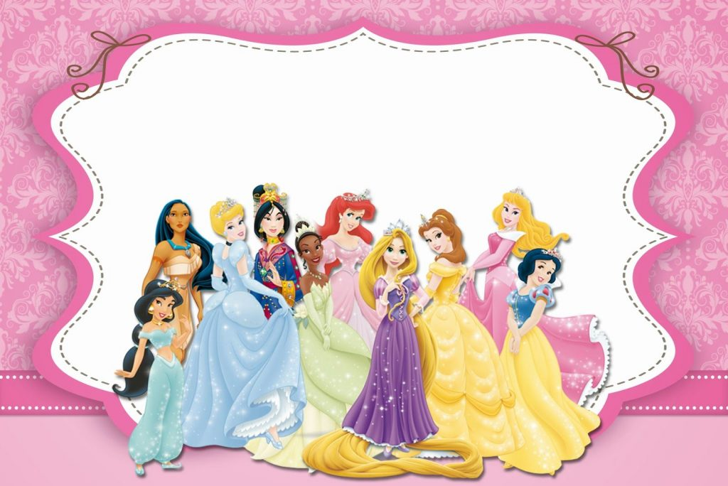 photo collage de princesas