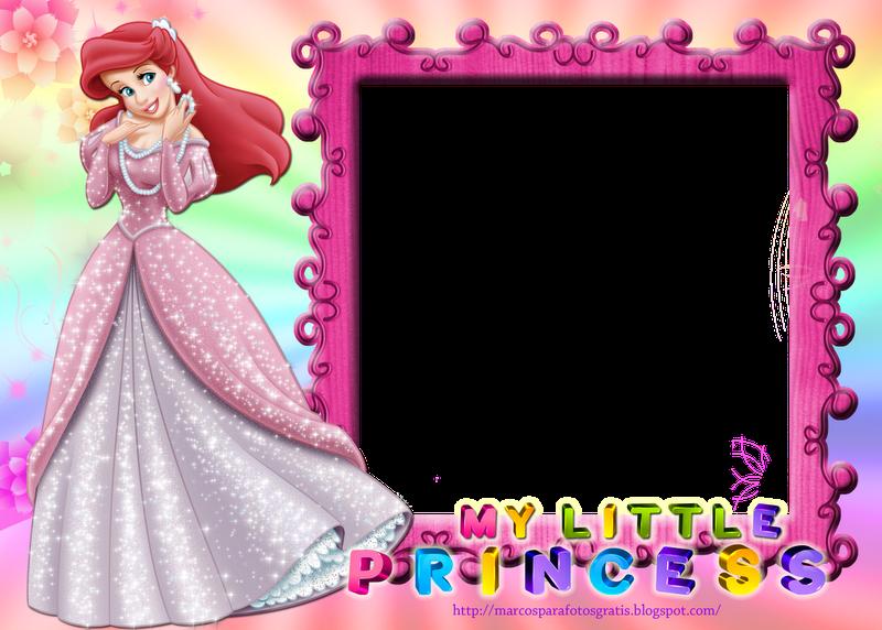 marcos para fotos de princesas gratis