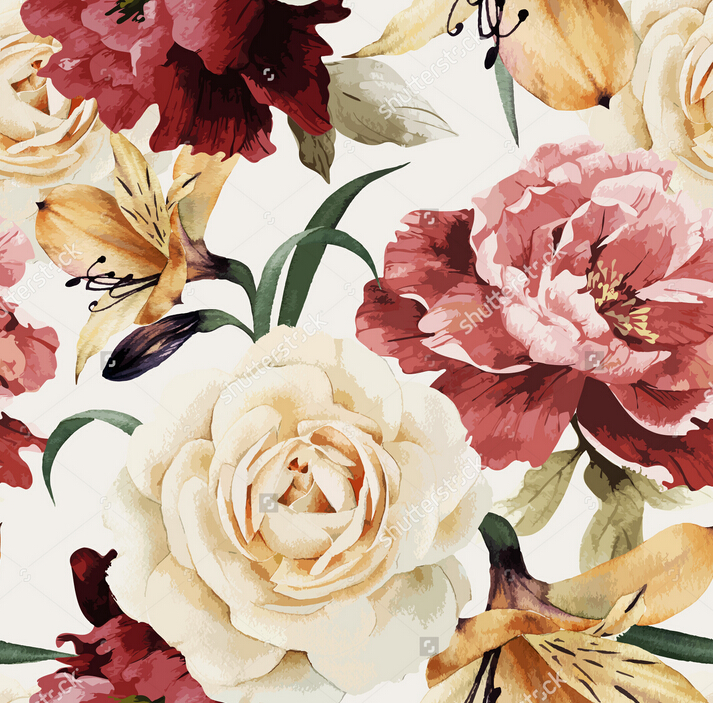 Wallpapers rosas vintage