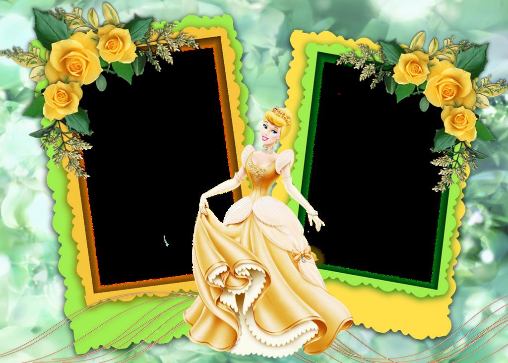 descargar marcos de princesas para fotos