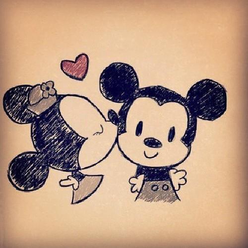 dibujos de mickey mouse tumblr