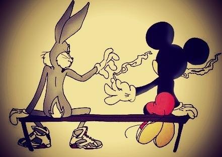 Fondos de pantalla de Mickey Mouse grosero