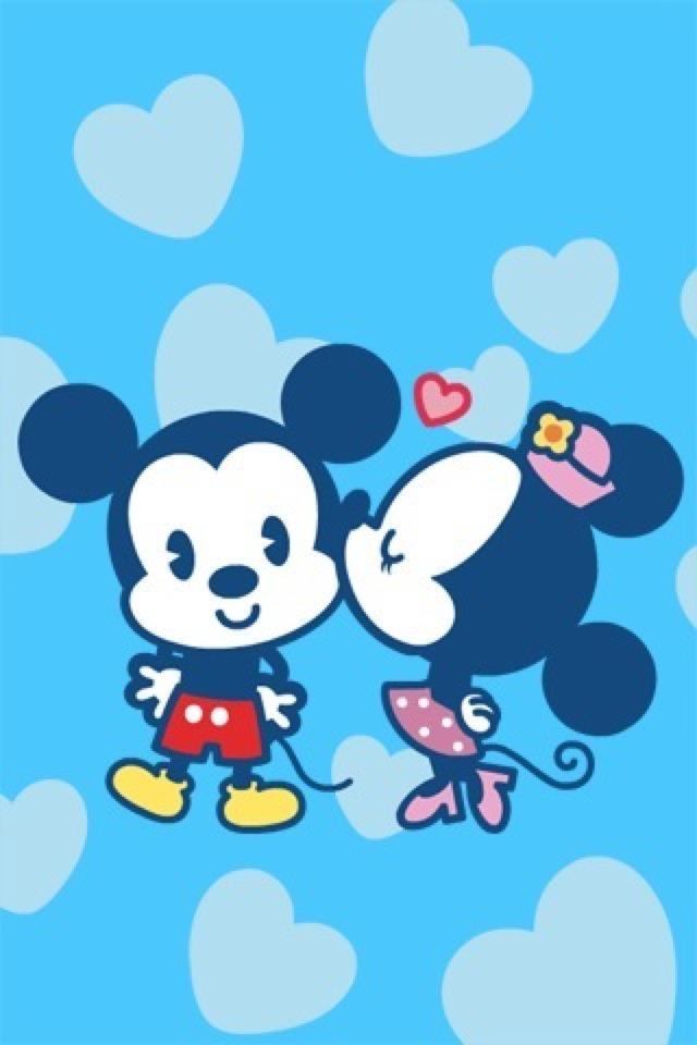 Fondos de pantalla de Mickey Mouse y Minnie