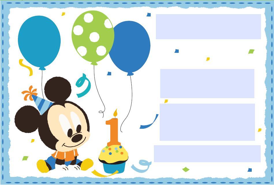 fotos de mickey mouse para cumpleaños
