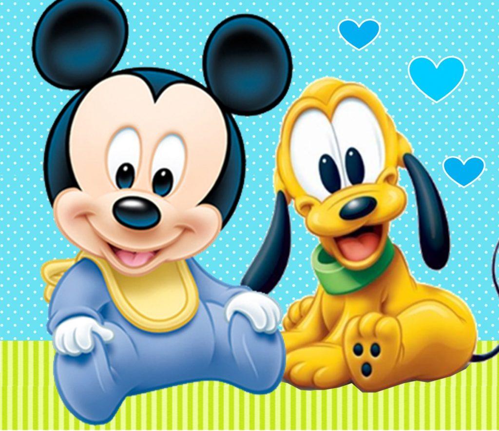 imágenes de mickey mouse bebe para descargar