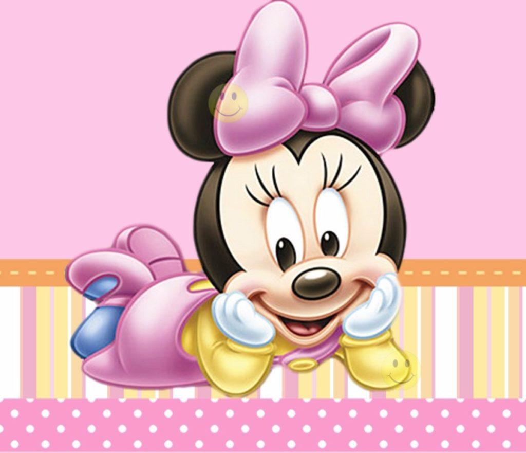 imagenes de minnie bebe para dibujar