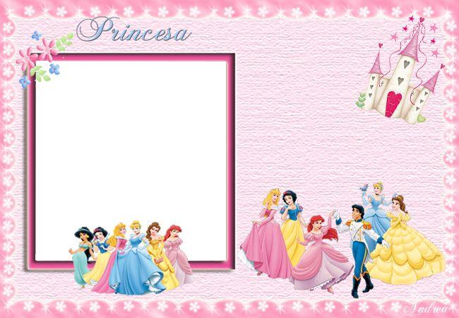 invitaciones princesas disney gratis personalizables
