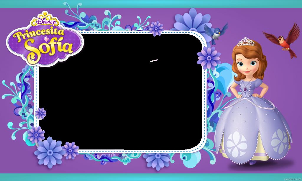 marcos de princesa sofia para fotos gratis