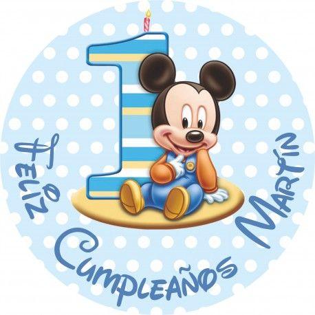 mickey mouse bebe decoraciones para cumpleaños