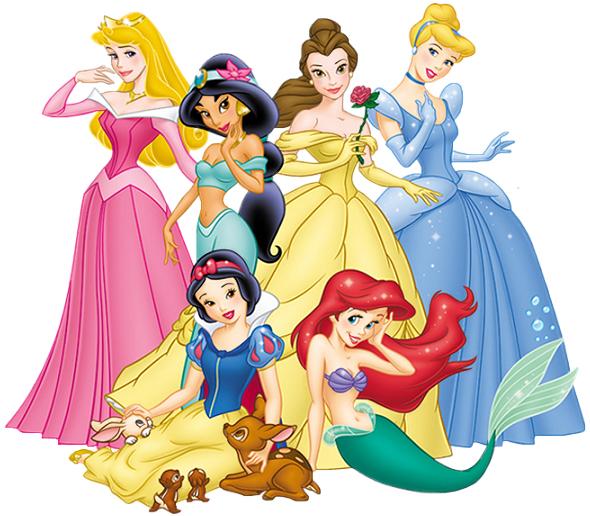 Fondos animados de princesas Disney
