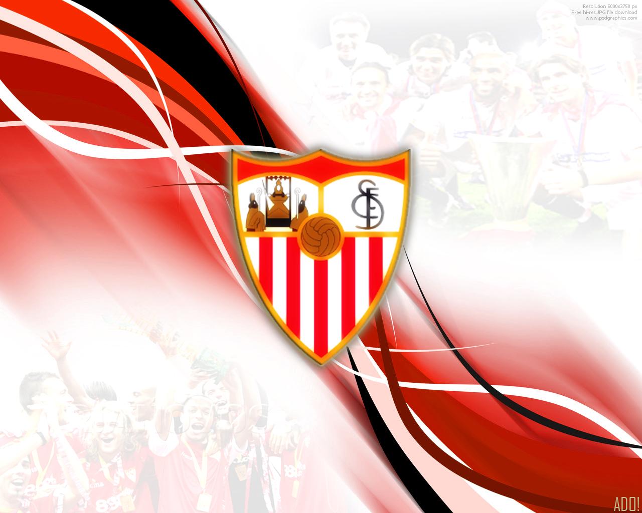 Fondo pantalla escudo Sevilla FC