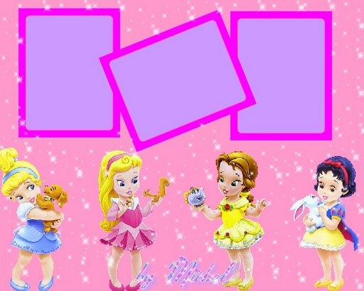 Fondos para fotos de princesas bebes