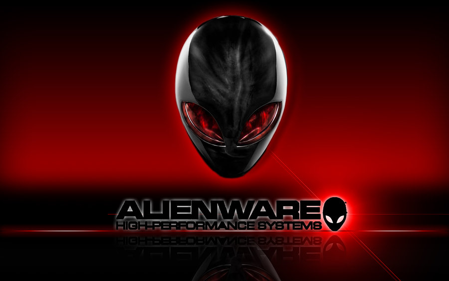 alienware wallpaper rojo