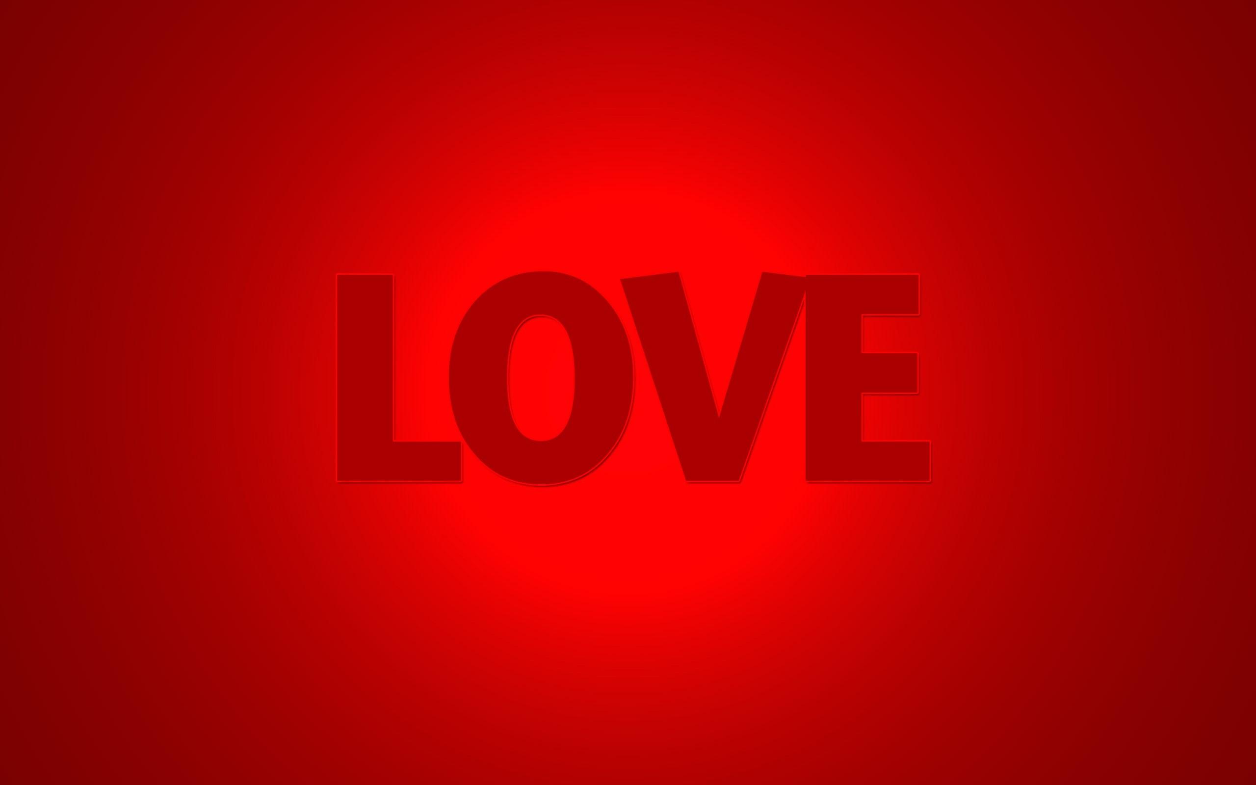 fondo de amor en rojo