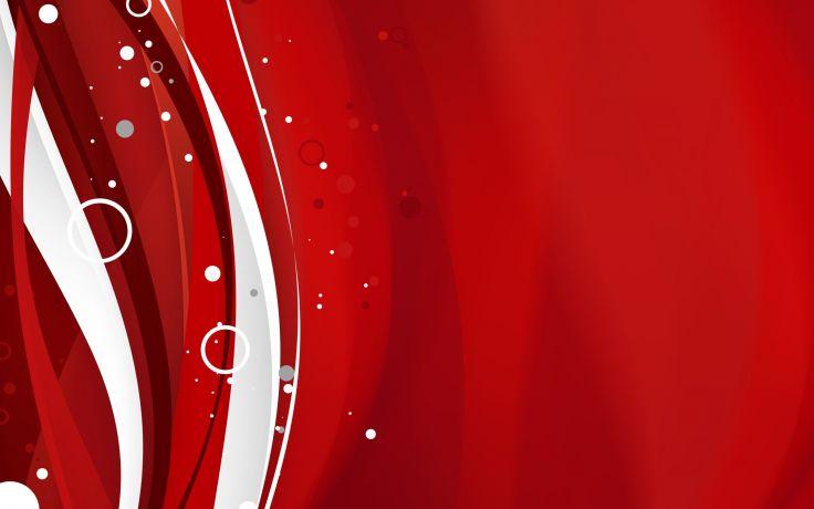 wallpaper rojo y blanco