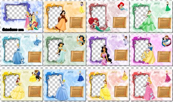 descargar collage de princesas