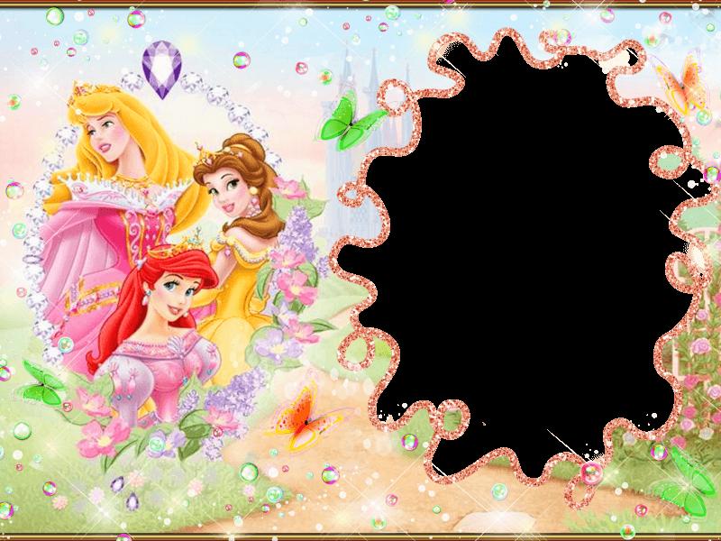 marcos de princesas para descargar gratis