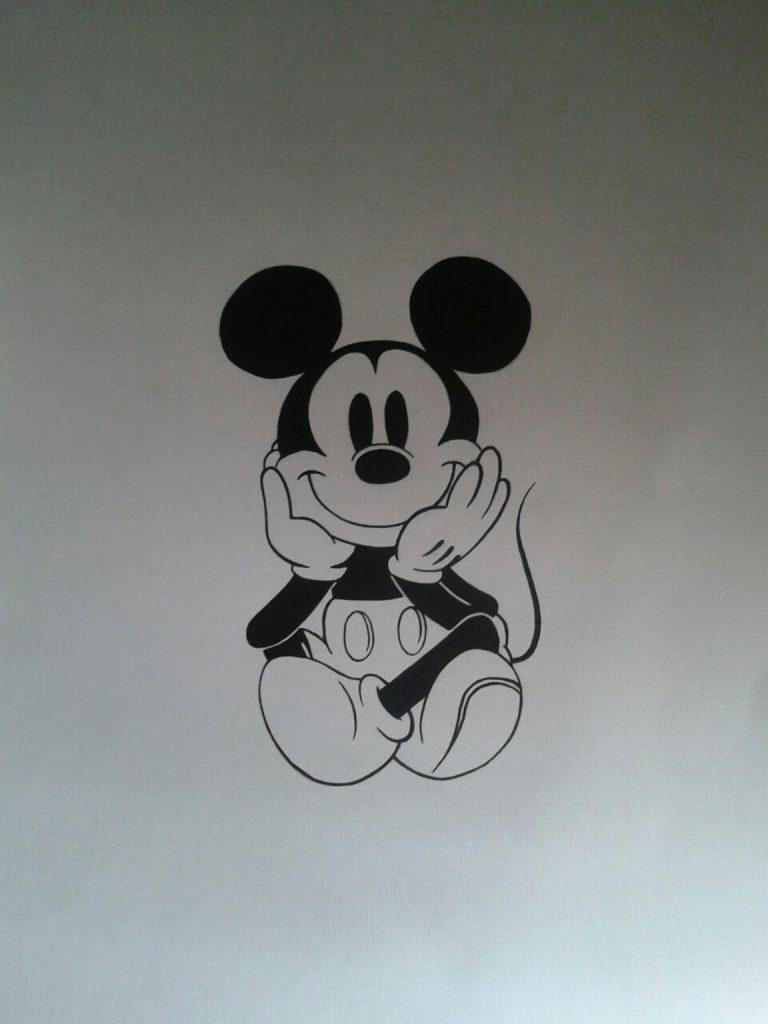 dibujos de mickey tumblr