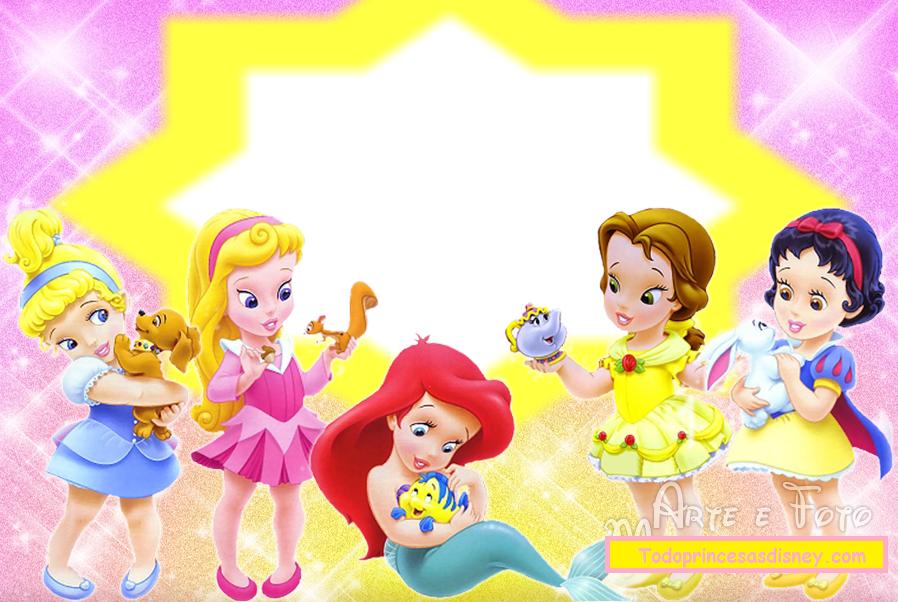 fondos de princesas para tarjetas de cumpleaños