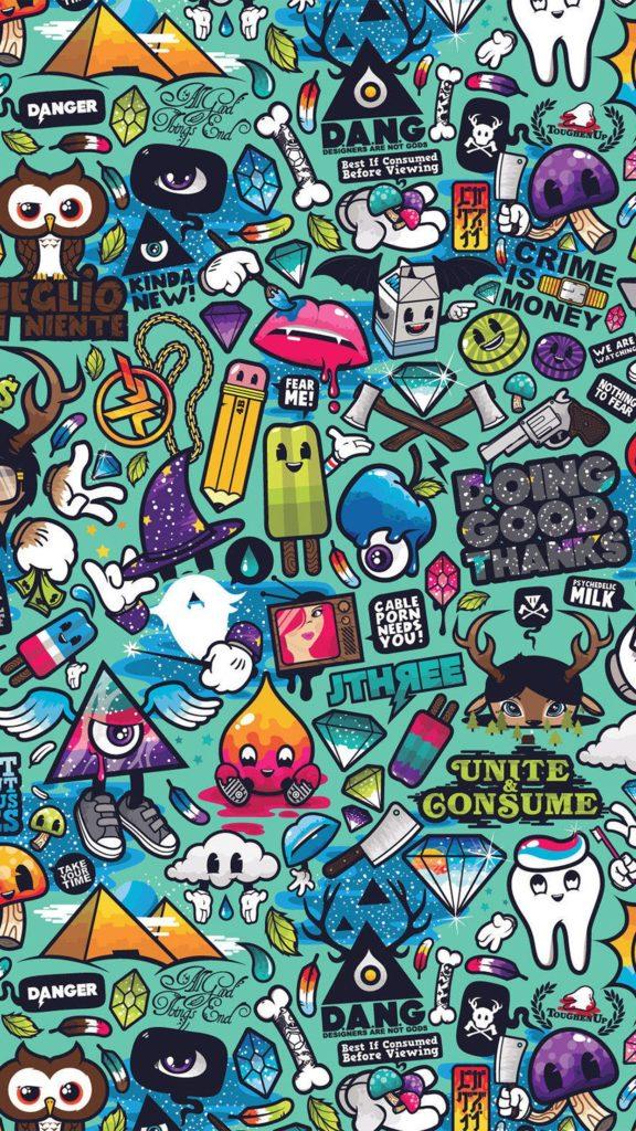 fondos de pantalla para celular graffitis