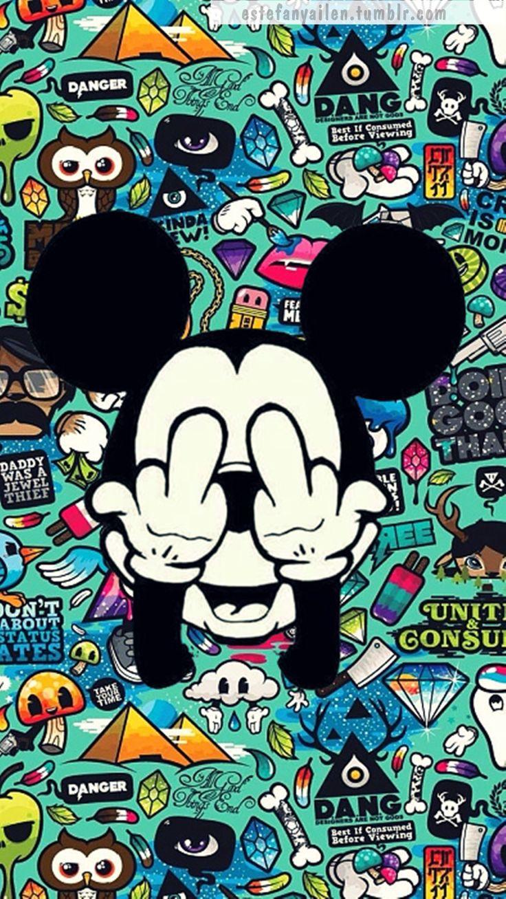 Fondos De Mickey Hipster Fondos De Pantalla