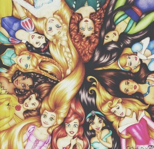 fondos de princesas tumblr