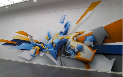 fondos de escritorio de graffitis 3d