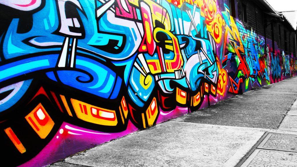 graffitis 3d para fondo de pantalla