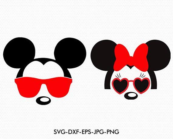 imagenes de minnie y mickey para colorear